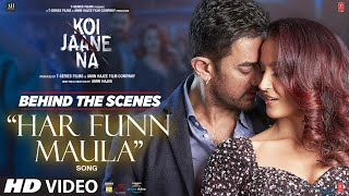 Behind The Scenes - Har Funn Maula   Koi Jaane Na   Aamir Khan   Elli A  Vishal,Zara,Tanishk,Amitabh
