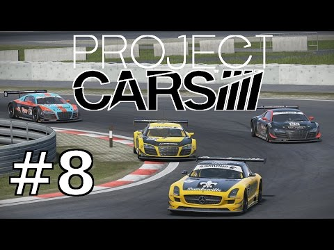 AUDI R8 LMS (Nürburgring GP) | Lets Play Project CARS German Part 8 | HD+ 60 FPS ULTRA Gameplay