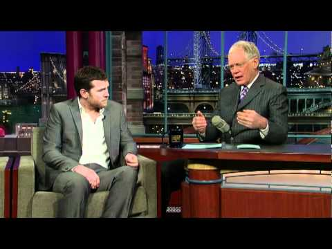 YouTube   David Letterman   Sam Worthington  Australia to Avatar