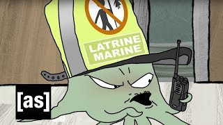 Bathroom Confusion | Squidbillies | Adult Swim