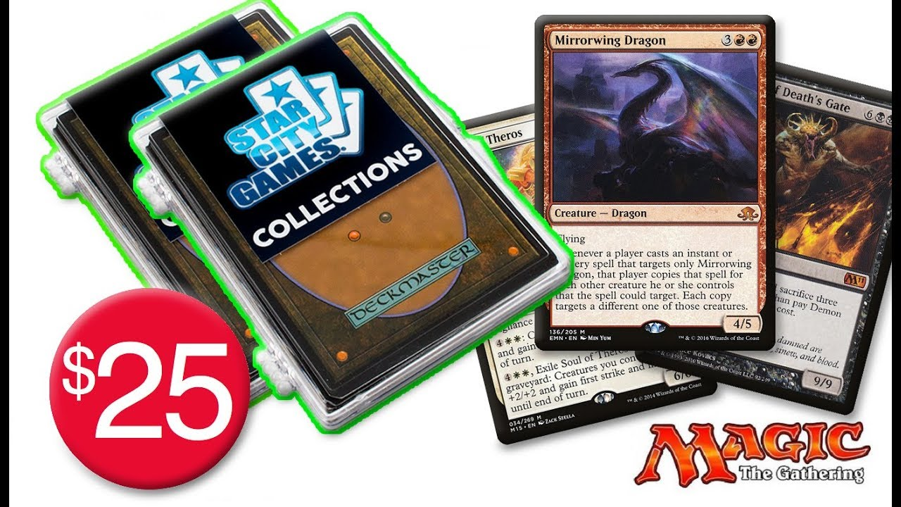 Magic the Gathering Commander Rare//Mythic Booster
