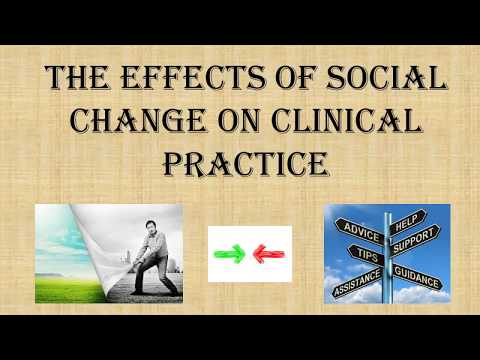 The Effects of Social Change on Clinical Practice PPT