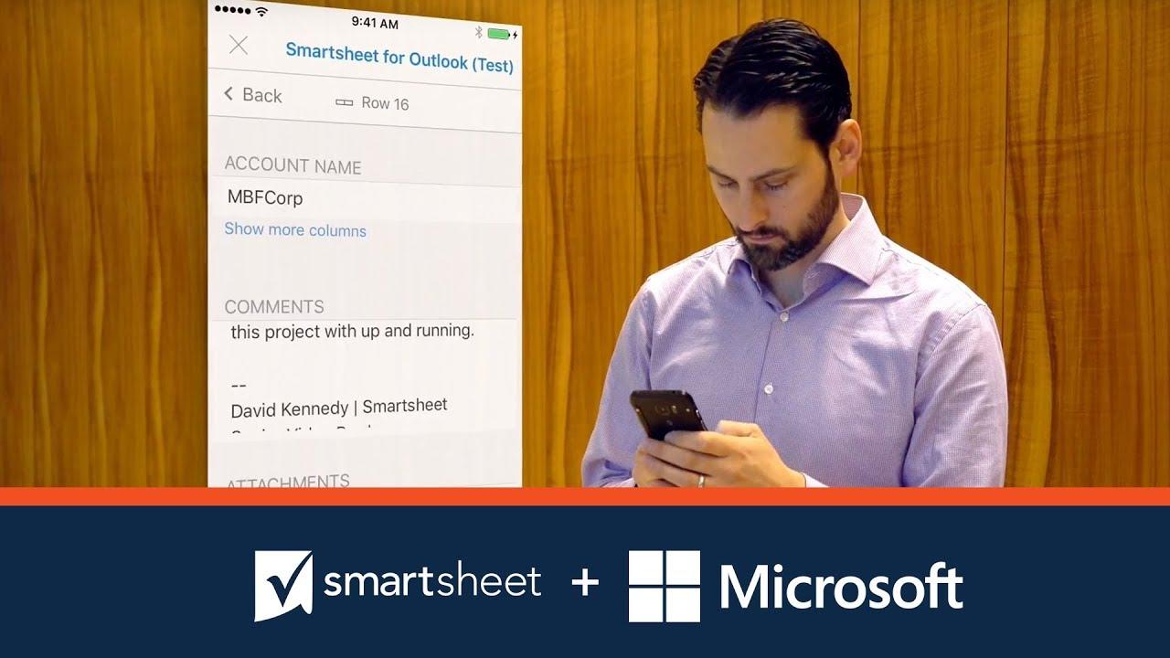Microsoft | Smartsheet