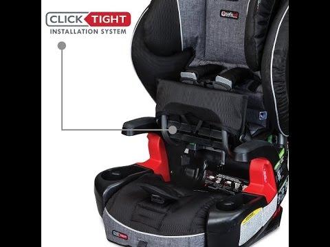 britax frontier clicktight combination harness 2 booster car seat rh youtube com britax frontier 85 car seat installation britax frontier 85 car seat installation