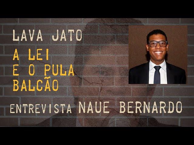 MORO pula o Balcão: Compliance e o lado de lá - ENTREVISTA : Naue Bernardo _