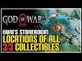God of War Buri's Storeroom All Collectibles