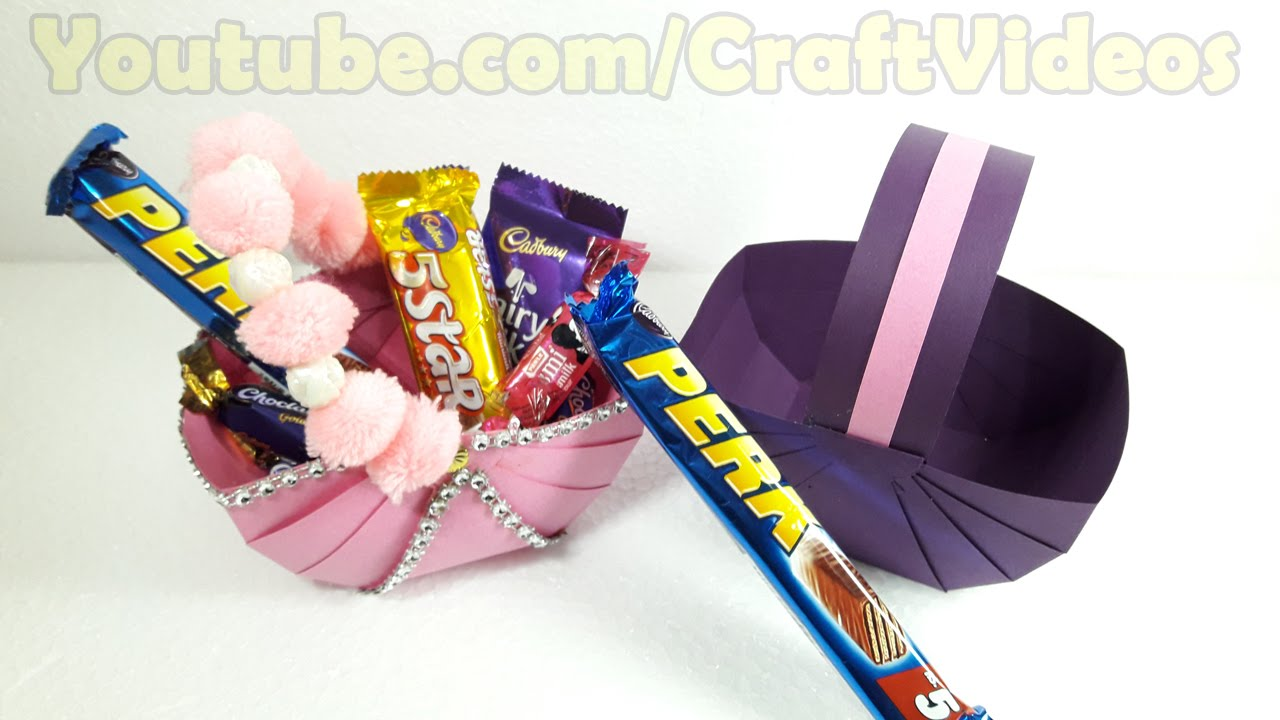 easter craft gift ideas how to make an easter basket paper basket simple diy 4307