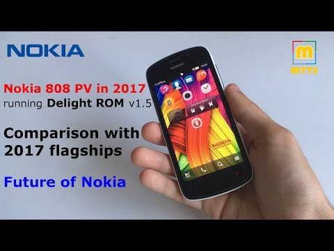Nokia 808 Pureview in 2017 - Delight - Comparison with today's flagships - Future of Nokia
