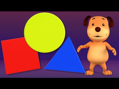 Learn Shapes | Shape Song | 3D Baby Rhyme Songs For Kids