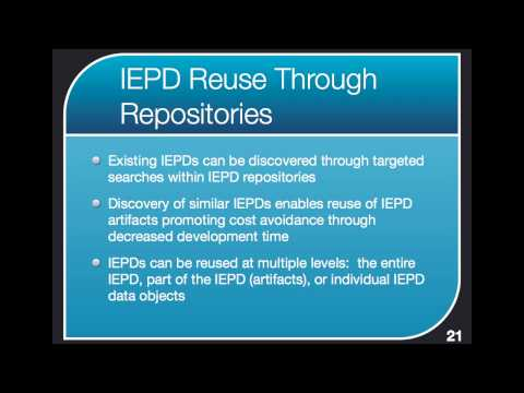 NIEM IEPDs 1 of 3 - Requirement Analysis