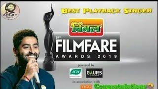 Download lagu Arijit Singh 64th Vimal Filmfare Award Best Male Playback Singer MP3