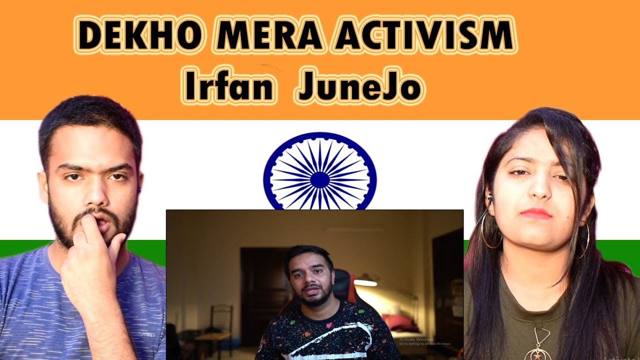 Indian Reaction on Irfan Junejo video | DEKHO MERA ACTIVISM | Swaggy d