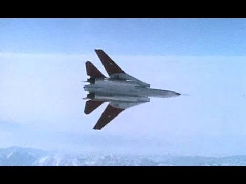 F-14 Tomcat Maneuvering - Dive And Pullout (1979)