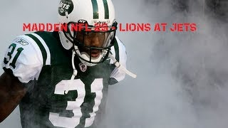 MADDEN 25 LIONS AT JETS E3 13 XBOX 360