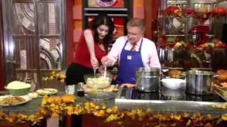 Nigella Lawson On Regis & Kelly - Mashed Potatoes With A Twist