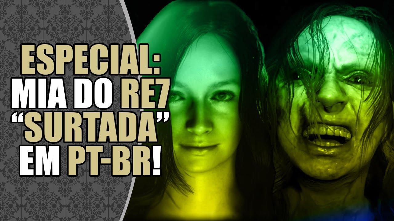 Dubladora de MIA em RESIDENT EVIL VILLAGE dubla cena de RESIDENT EVIL 7! 😍   CORTES DATABASE
