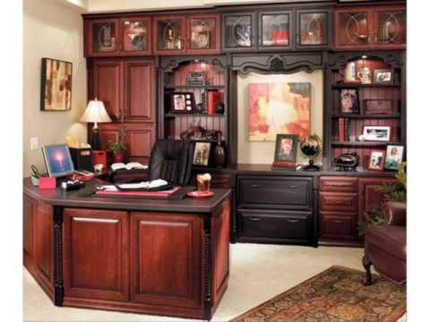 Custom Home Office Cabinetry Design