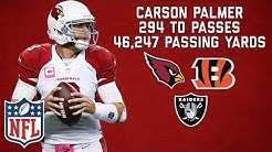 Carson Palmer's Best Career Highlights! | NFL