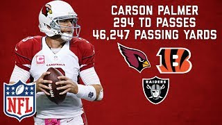 Carson Palmer's Best Career Highlights! | NFL