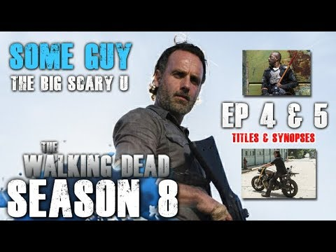 Download The Walking Dead Season 8 - New Episodes 4 & 5 Titles and Descriptions Revealed!