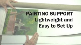 Oil Painting Workshop #8: How To Set Up Lightweight Painting Supports