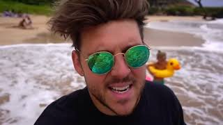 MOMMY TRAPPED IN SAND!! Hit by huge wave!! We had to rush to the... | Slyfox Family