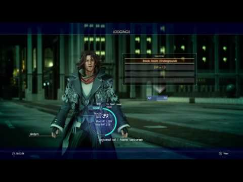 Final Fantasy XV: Armiger glitch (覚醒ノクト) and Niflheim travel process with text [version 1.00]