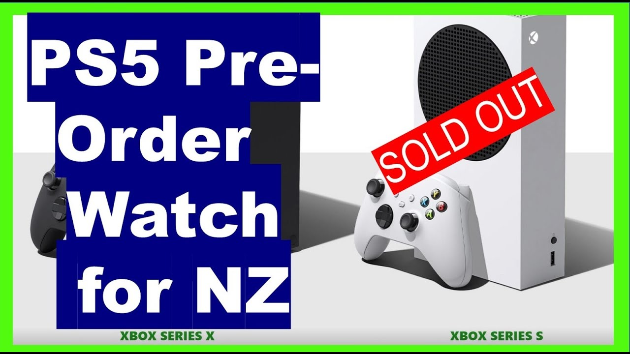 Aus Nz Sell Out Of Xbox Series X In Minutes S In Stock Xbox Xboxseriesx Xboxpreorder Youtube