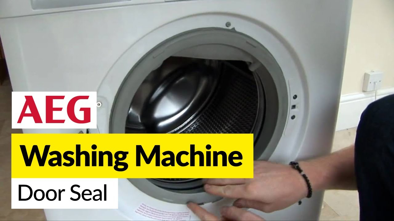 How To Replace A Washing Machine Door Seal On An Aeg