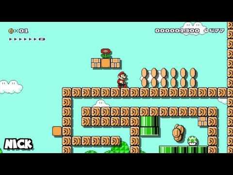 Secret Stage Plays Super Mario Maker