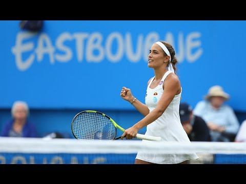 2016 Aegon International Round of 16 | Monica Puig vs Caroline Wozniacki | WTA Highlights