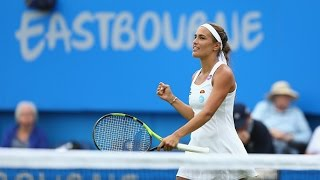 2016 Aegon International Round of 16 | Monica Puig vs Caroline Wozniacki | WTA Highlights