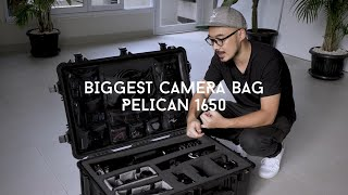 Biggest Camera Bag Pelican 1650 | Review