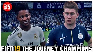 FIFA 19 Indonesia The Journey Champions: Semifinal UCL, Real Madrid vs Manchester City #35