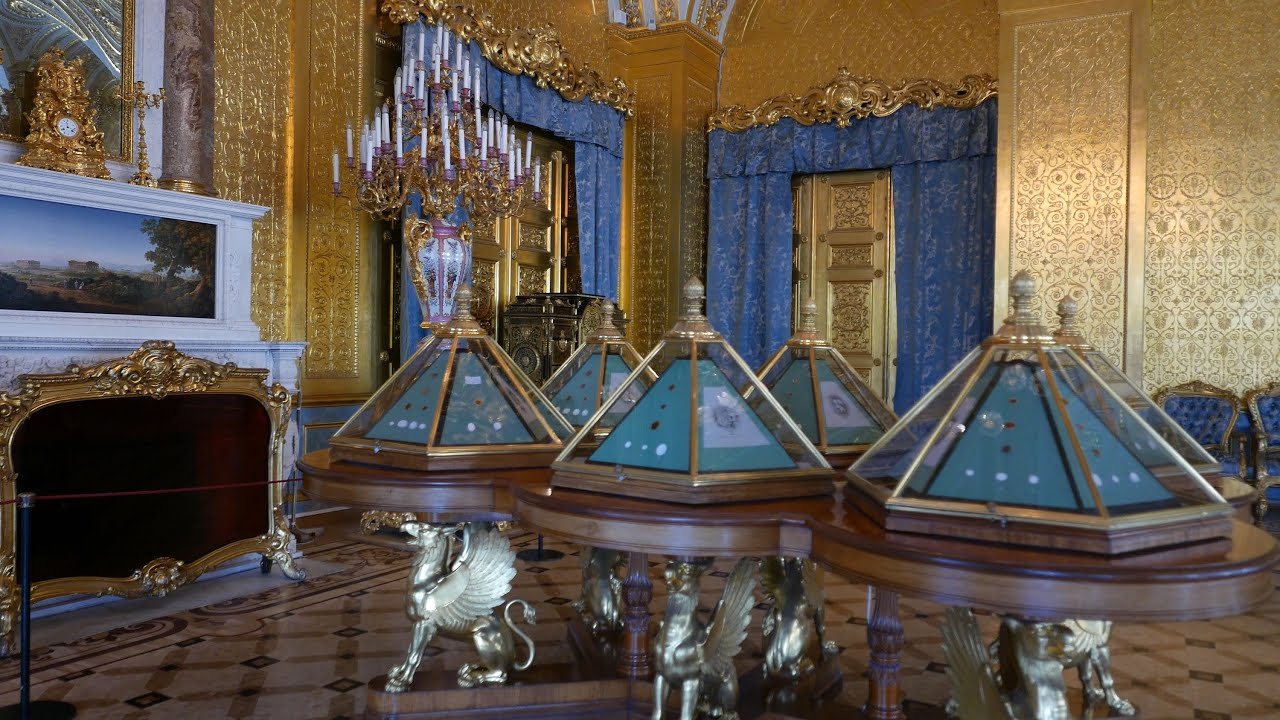 Hermitage Winter Palace Gold Drawing Room Boudoir