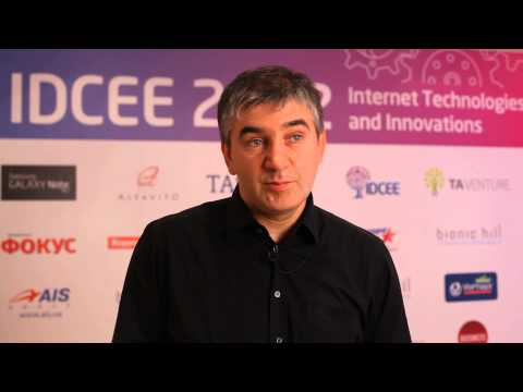IDCEE 2012: Official Interview with Serguei Beloussov (Founder @Parallels, Acronis, Acumatica)