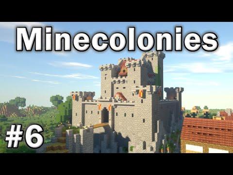 ⚒️ Minecolonies Survival: #6 - The Castle Is Complete!