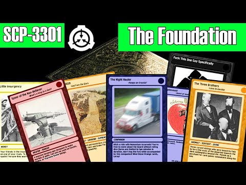 "SCP-3301 ""The Foundation"" with all test logs included 