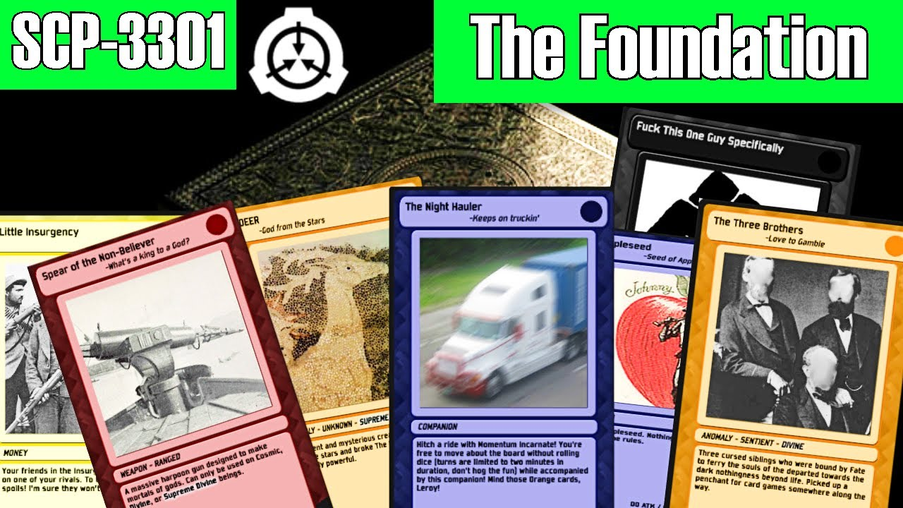 SCP-3301 The SCP Foundation Board Game reading | object class safe | Doctor Wondertainment SCP