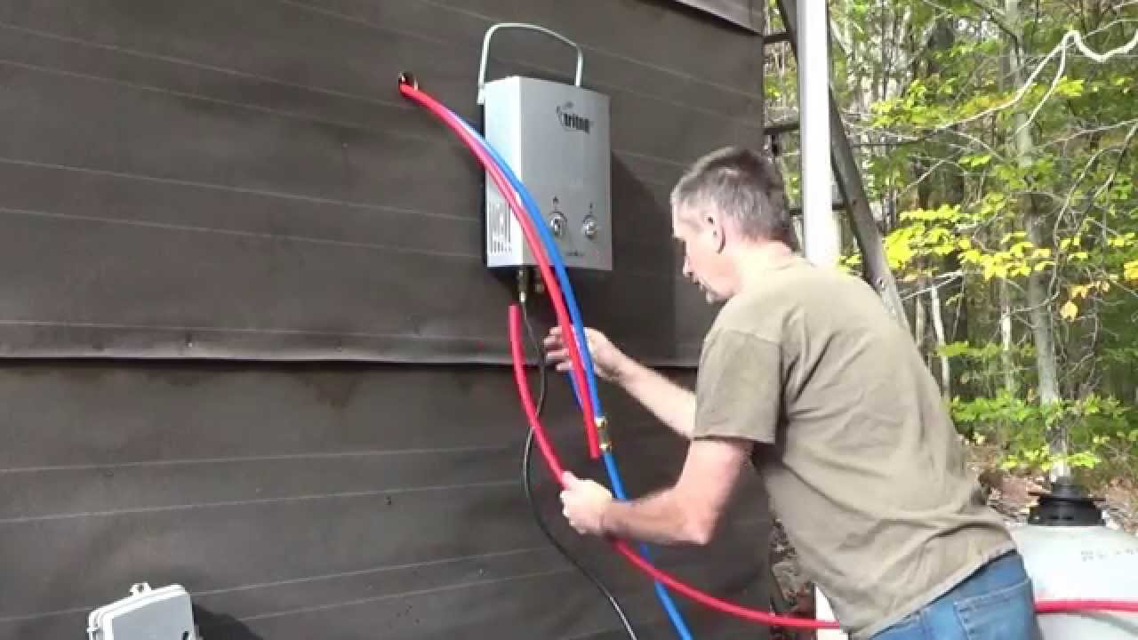 Working On Hot Running Water In My Tiny House Disaster YouTube