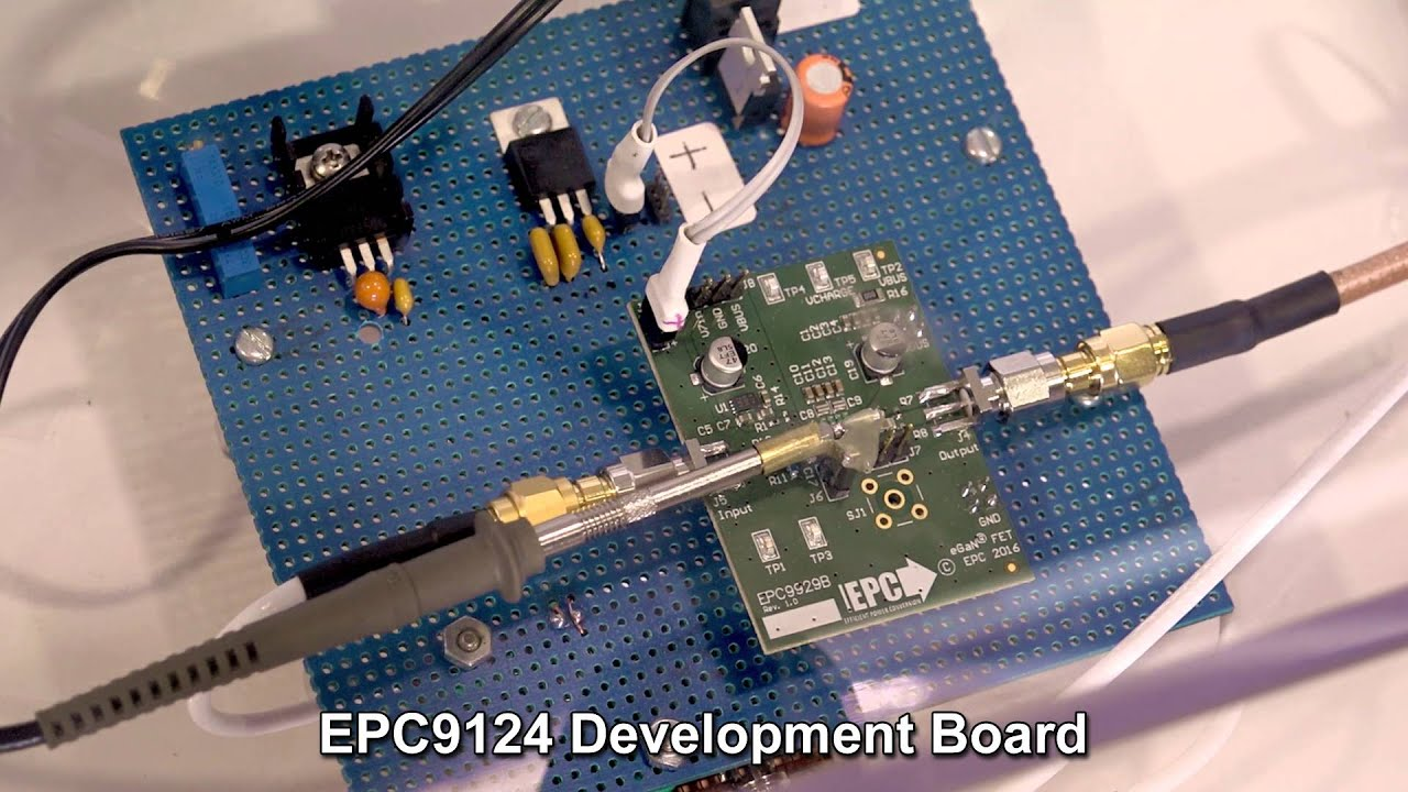 EPC board showcases ultra-fast transition capability of GaN FETs for