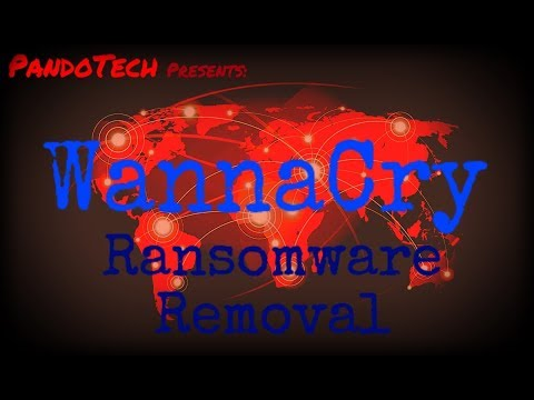 How to remove Wannacry Ransomware