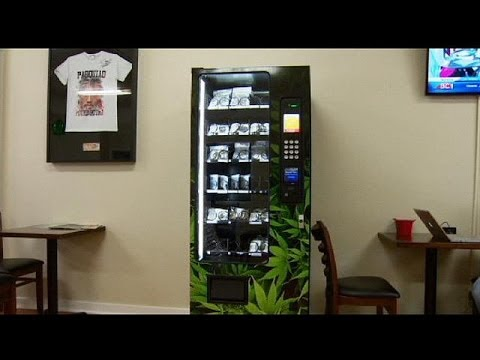 Pot vending machine opens for business in Vancouver