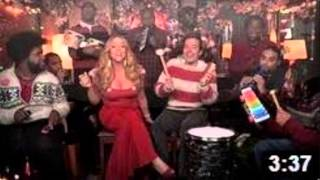 """Jimmy Fallon, Mariah Carey & The Roots: """"All I Want For Christmas Is You"""""""