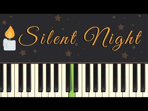 Easy Piano Tutorial: Silent Night, With Free Sheet Music