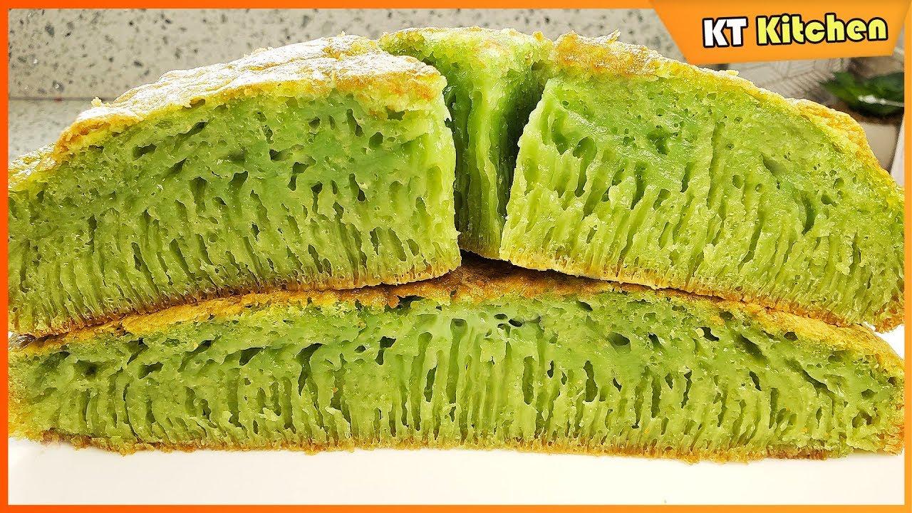 Bí Quyết Làm Bánh Bò Nướng Lá Dứa Nhiều Rể Tre Thành Công Ngay Lần Đầu – Honeycomb Cake Recipe