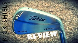 TITLEIST 712U FORGED UTILITY IRON REVIEW