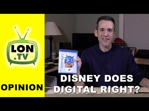 Opinion - Disney Gets Digital Distribution Right - Blu-ray Comes with Digital Version on 5 services