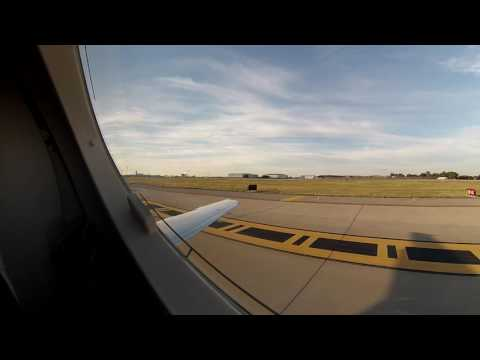 Early morning Texas Departure and Landing