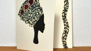 African art wall decor | DIY home decoration!! #afrocentric #africanart